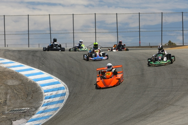 Corkscrew Spring Nationals with Northern California Karters at Laguna Seca Set for March 2017